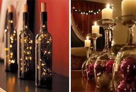 botellas iluminadas