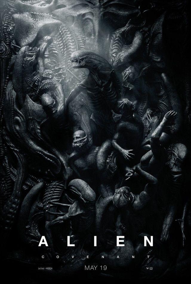 美しき地獄絵図。映画『エイリアン:コヴェナント』の圧倒的な新ポスター 2