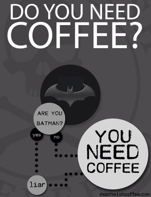 But...what if you ARE Batman?.