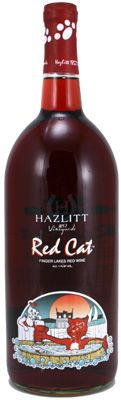 Hazlitt vineyard Home of the Red Cat wine