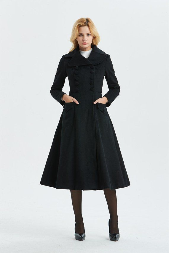 Vintage Dress Coats Women