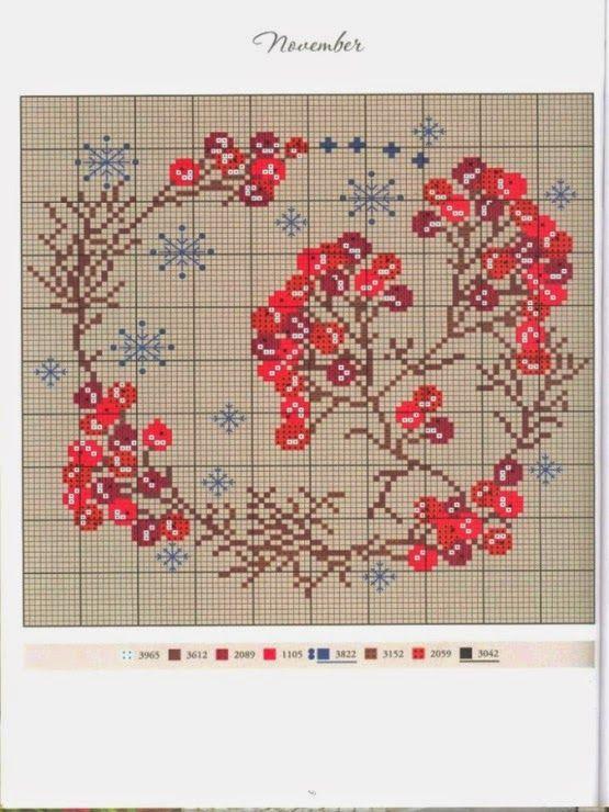 Рукотворные штучки: Схемы вышивки Gerda Bengtsson, Kazuko Aoki и другая…