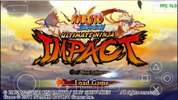 Naruto Ultimate Ninja Impact High Compress Cso PPSSP
