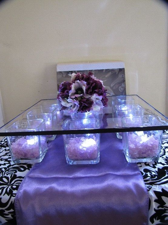 diy square cake stand | diy cake stand get small square vases from the dollar tree fill them ...