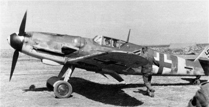 """Christl"", the Bf 109G-5 of Hauptman Gerhard Barkhorn"