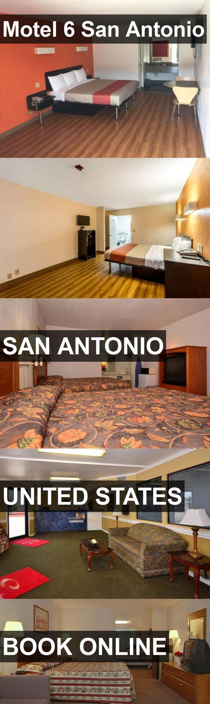 Hotel Motel 6 San Antonio in San Antonio, United States. For more information, photos, reviews and best prices please follow the link. #UnitedStates #SanAntonio #travel #vacation #hotel