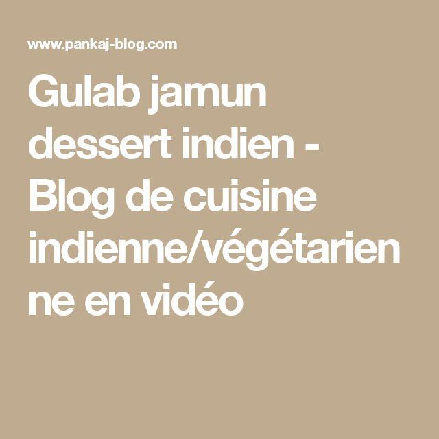 Gateaux indien video