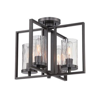 The Elements collection features the perfect design for Craftsman or Mission inspired room settings. The filament lamp will inspire the 20th century feel.