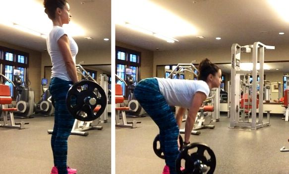 It's leg day and that means time to dead lift ladies So why should females do stiff leg...
