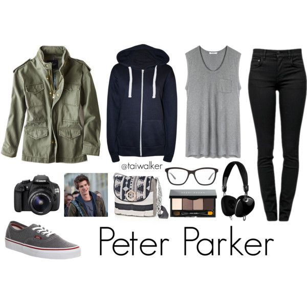 Marvel Comics • The Amazing Spider-Man • Peter Parker Inspired Outfit