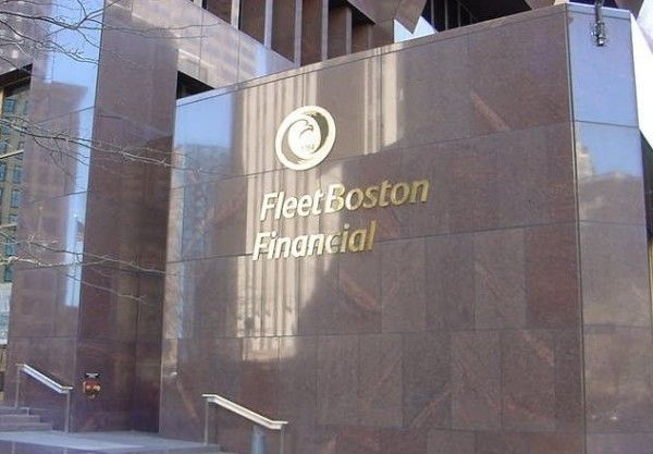 According to reports, FleetBoston evolved from an earlier financial institution, Providence Bank, founded by John Brown who was a slave trader and owned ships used to transport slaves.  The bank financed Brown's slave voyages and profited from them. Brown even reportedly helped charter what became Brown University.