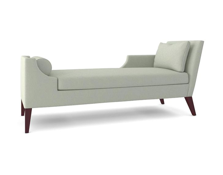 THE SANDRA NAPPER CHAISE 4550 This chaise is like no other. It can stand alone or pair it with another Sandra Napper Chaise facing your fireplace...