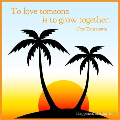 """To love someone is to grow together."" ~Doc Zantamata ❤"