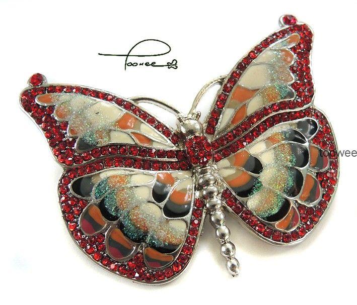 Toowee 5209 BROSZKA Motyl Motylek Kolorowy