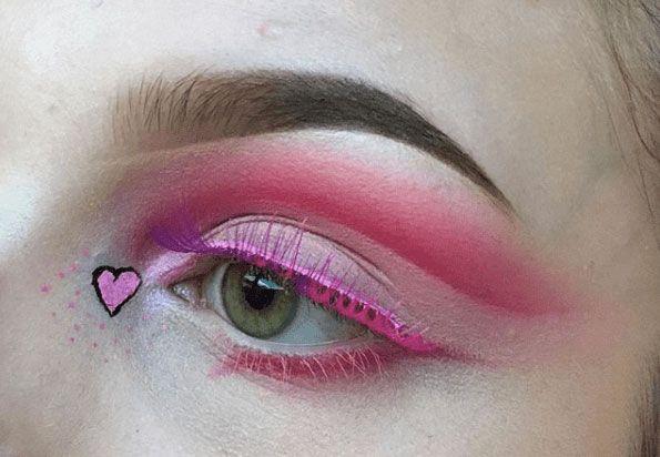f7e0705330f9f021d1124f57e19ff48c - 31 Looks: Makeup for Valentines Day 2018