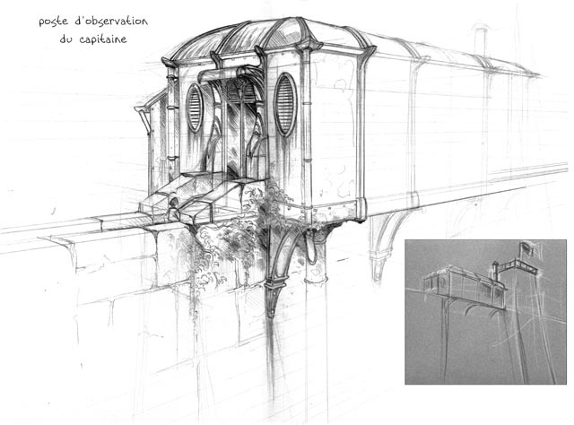 sketches : captain's view point