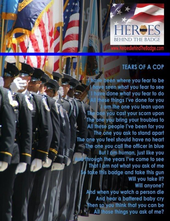 Hero's Behind the Badge - Tears of a Cop