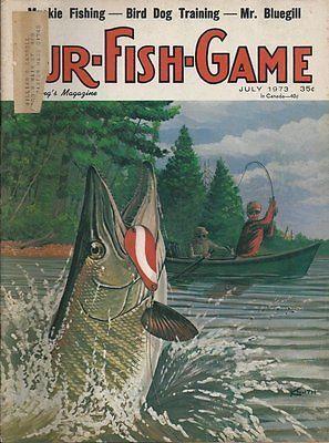 3 1973 1974 Fur Fish Game Hunting Fishing Magazines | eBay