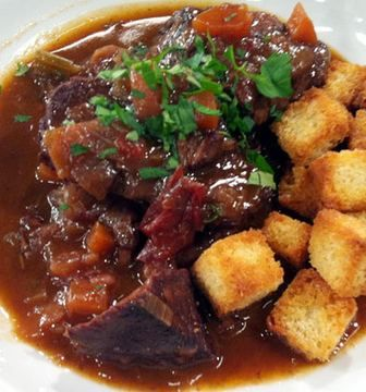 Divine Beef With Red Wine