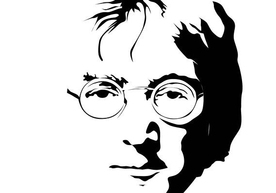 """Flickr/Rachel Chapman                                               Detail of John Lennon illustration. Asked by """"Fresh Air"""" host Terry Gross why it is that John Lennon has been said not to have cared for the sound of his own voice, Giles Martin, son of legendary Beatles... - #Beatles, #Didnt, #Finance, #Heard, #John, #Lennon"""