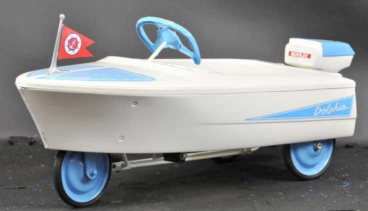 Murray Speedboat Pedal Boat Toy Pedal Toy In Boat Design