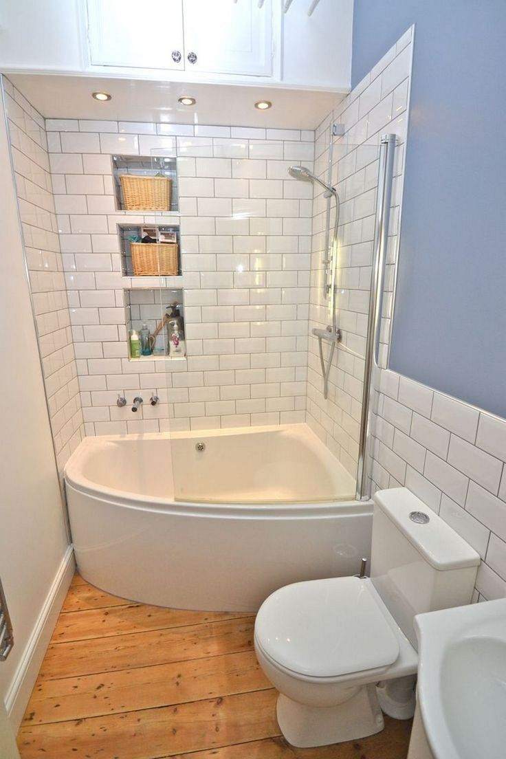 46 Small Bathroom Ideas That Increase Space # ...