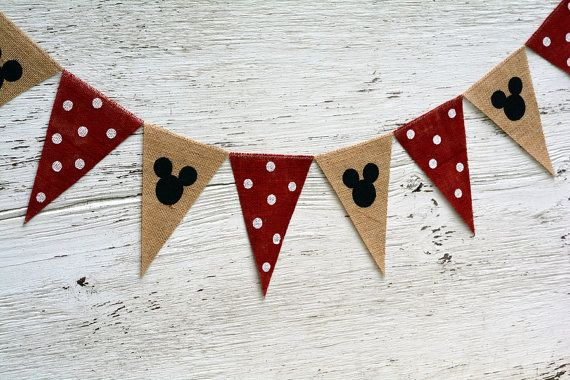 Mickey Mouse Banner / Mickey Mouse Birthday / by nhayesdesigns