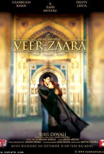Bollywood - Veer-Zaara 2004 - Shah Rukh Khan, Preity Zinta, Rani Mukerji - Beautiful heartbreaking story
