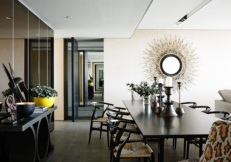 #adelaidebragg #interiordesign #sydneyapartment #contemporaryliving #dining
