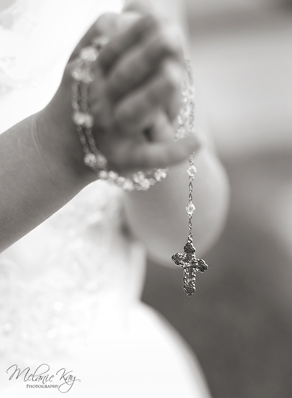 ©Melanie Kay Photography, First Communion, Black & White