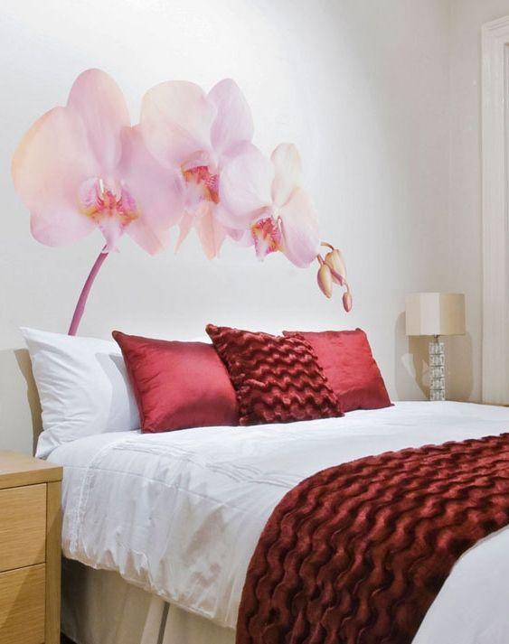 Naklejka ścienna Sleepy Orchid Naklejki Na ścianę