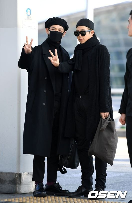 BTS Shows Impeccable Fashion Sense at Airport Terminal   Koogle TV