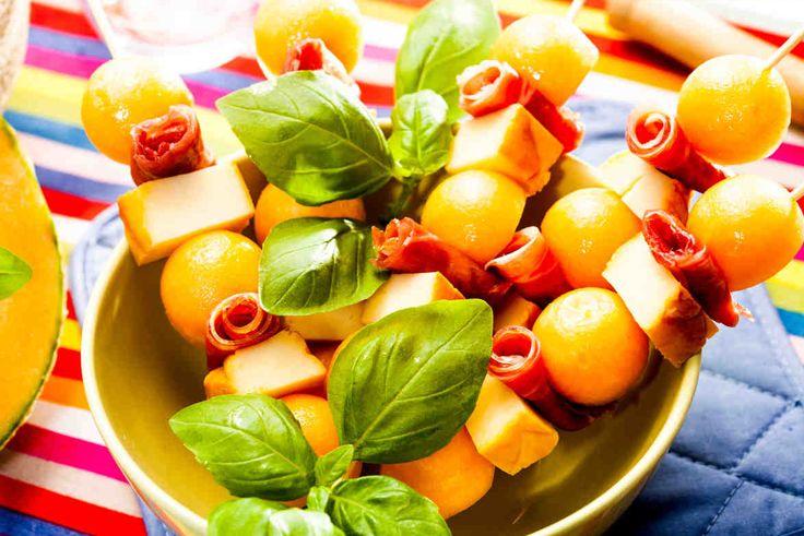 #szaszlyk #melon #grill #widzimysienagrillu #smacznastrona #mniam #omnomnm #dinner #food #delicious