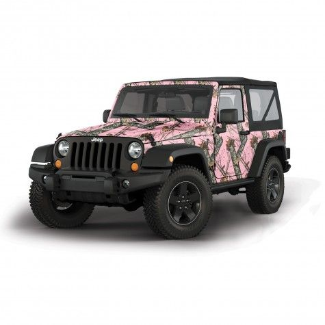 Mossy Oak® Camo Wrap - 2 Door Jeep