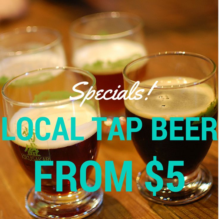 Drinksdeal is your one stop guide for night outs! Find the best local tap beers for $5.00.
