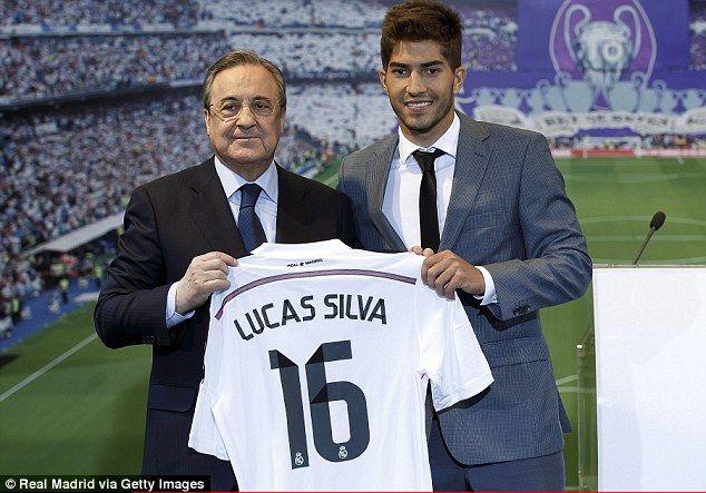 Lucas Silva (BRA) - From Cruzeiro (BRA) to Real Madrid (ESP) - 11.5 million pounds