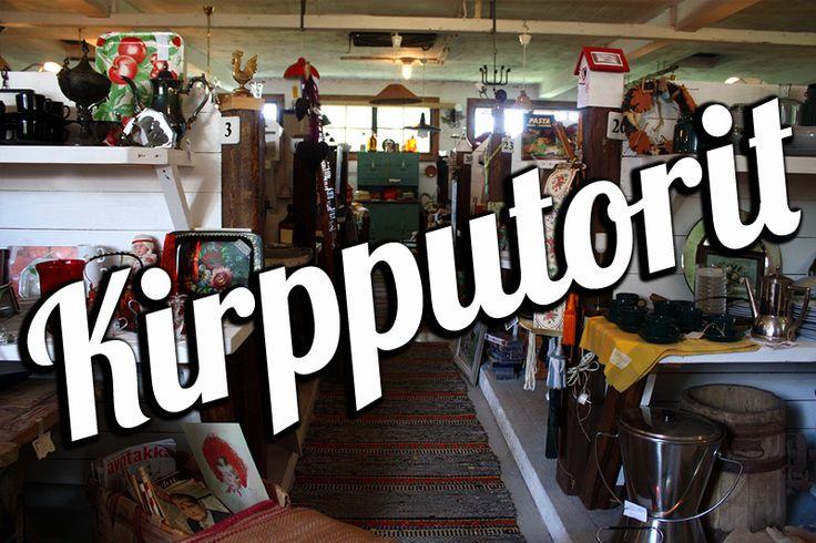 Suomi Tourin kirpputorivinkit / Finland travel tips: Flea Markets #suomi #finland