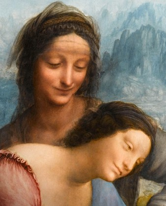 L'Ultimo Capolavoro di Leonardo da Vinci,Sant'Anna  Museo del Louvre