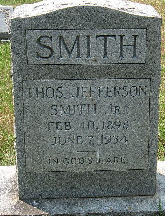 Thomas Jefferson Smith, Jr