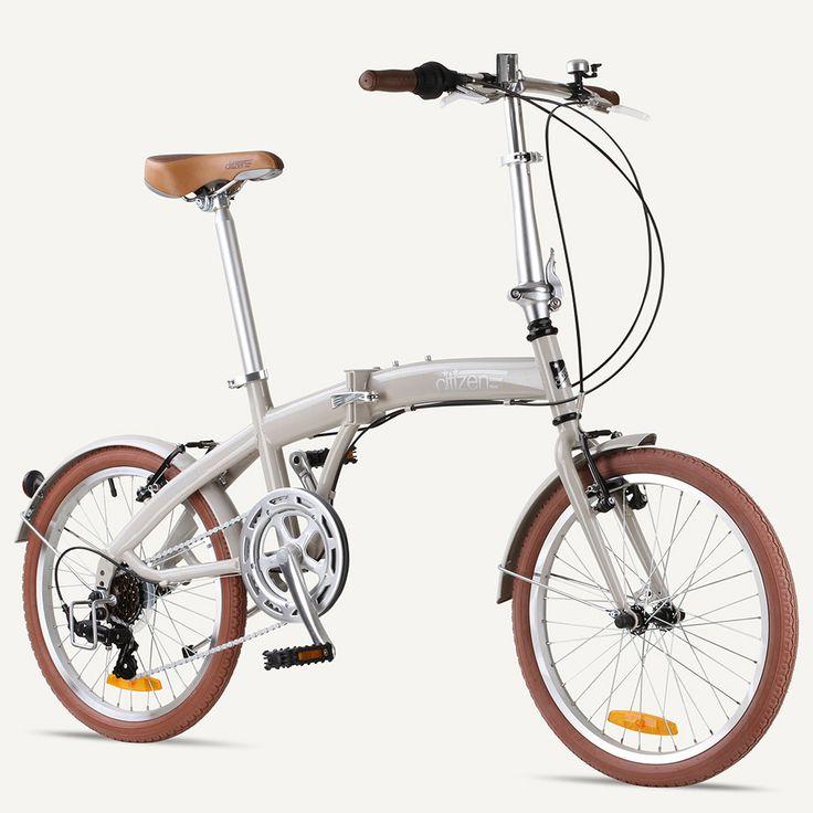 Miami Citizen Bike 20 6 Speed Folding Bike With Steel Frame