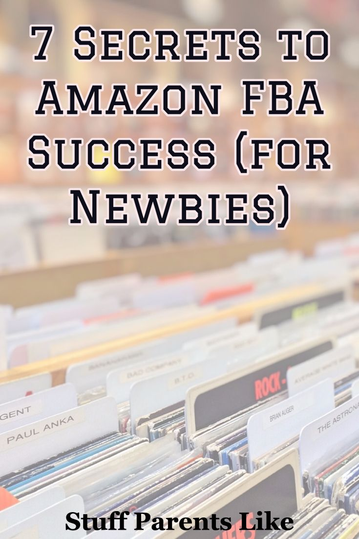 Here I detail the 7 Secrets to Amazon FBA success