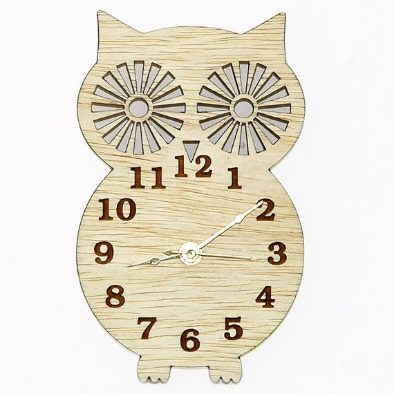 Wall Clock Owl Design : Images about guest bathroom on home wall