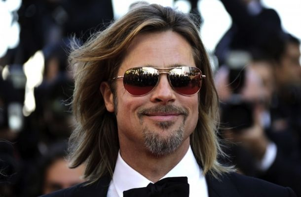 tagli di #capelli uomo #estate 2012 - Brad Pitt
