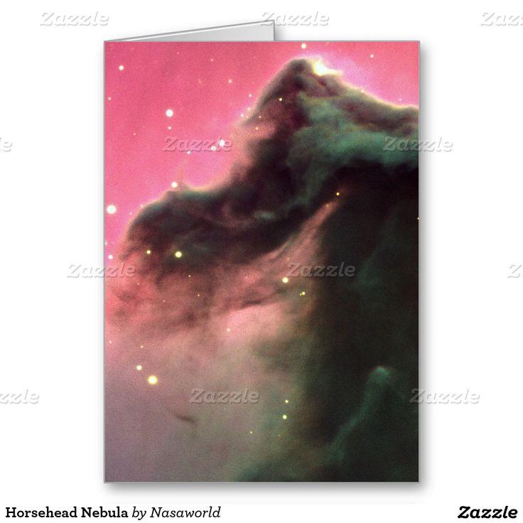 Horsehead Nebula Greeting Card