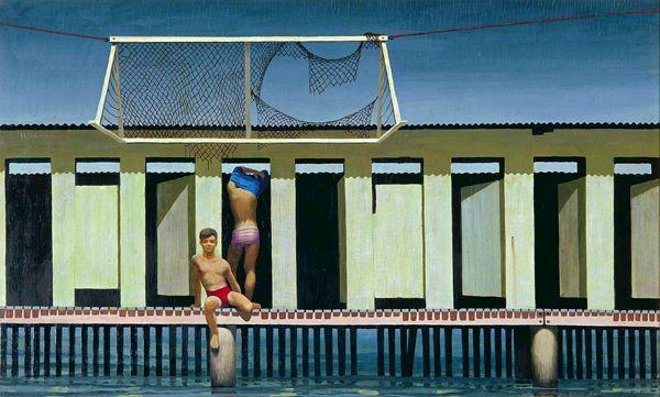Jeffrey Smart, Rushcutters Bay Baths