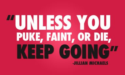 KEEP GOING!: Jillian Michaels, Keepgoing, Inspiration, Quotes, Keep Going, Exercise, Fitness Motivation, Health, Workout