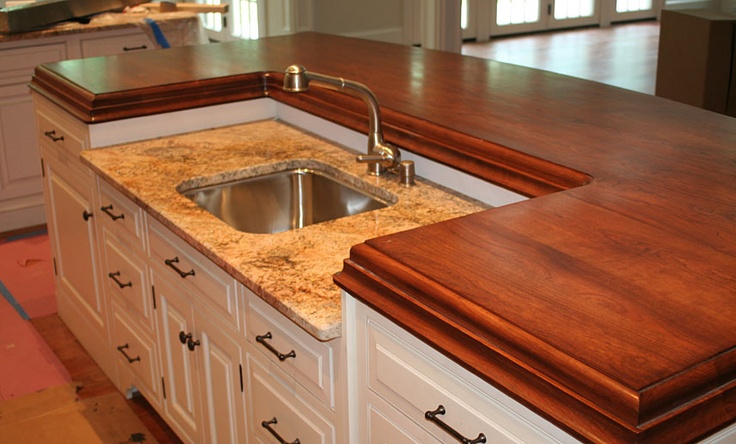 wood island tops kitchens 1000 images about butcher block counter profiles on 1583