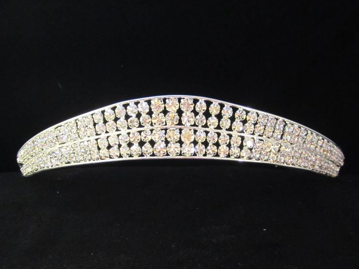 Crystal  wonder  tiara - $26.95  each For  more  info  please  contact - Shoot  for  the  Moon  Jewelry  Designs (850) 230-9983 #bridaltiaras #Tiaras #rhinestones