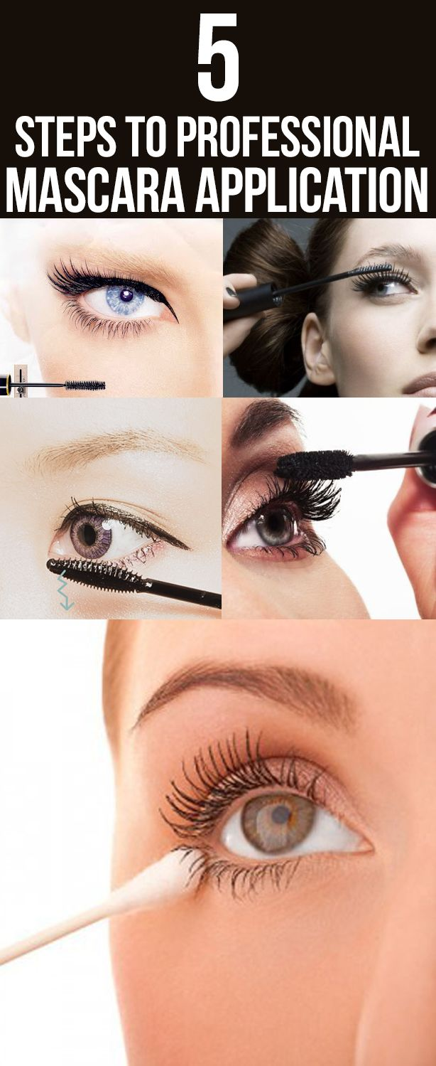 5 Steps To Professional Mascara Application