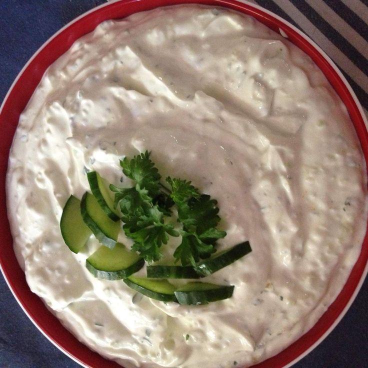 Rezept Tzaziki - der Weltbeste (Rezept des Tages am 21.10.2014) von The Mama Betty - Rezept der Kategorie Saucen/Dips/Brotaufstriche